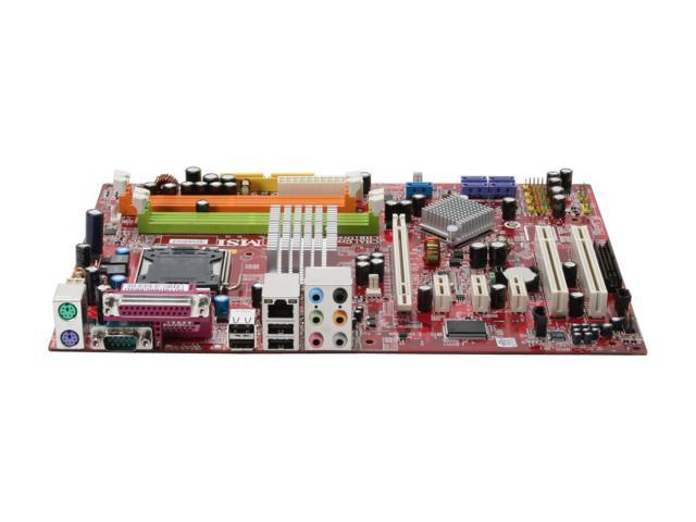 MSI P35 Neo-F LGA 775 Intel P35 ATX Intel Motherboard