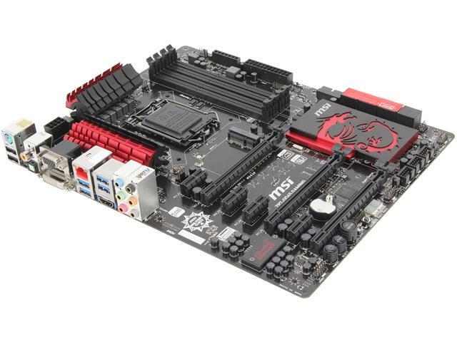 MSI Z87-GD65 Gaming LGA 1150 Intel Z87 HDMI SATA 6Gb/s USB 3.0 ATX Extreme OC High Performance Triple CFX/ SLI  Intel Motherboard