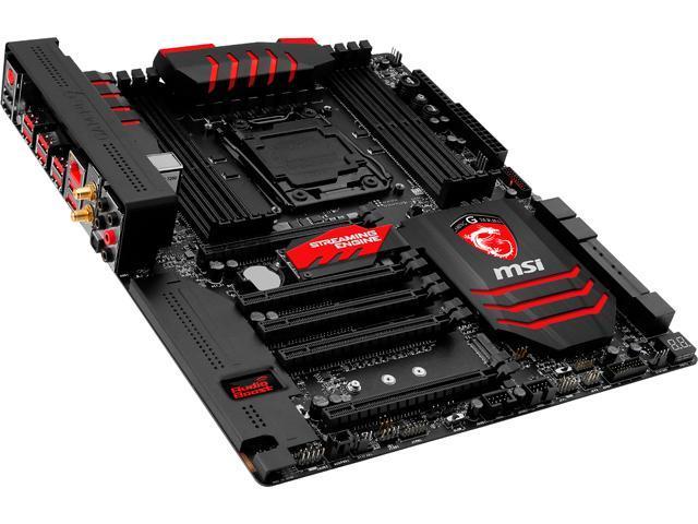 MSI X99S Gaming 9 AC LGA 2011-v3 Intel X99 SATA 6Gb/s USB 3.0 Extended ATX Intel Motherboard