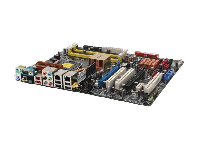 ASUS P5B Deluxe/WiFi-AP LGA 775 Intel P965 Express ATX Intel Motherboard