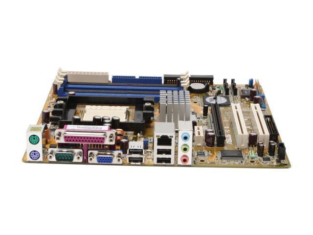ASUS A8V-VM 939 VIA K8M890 Micro ATX AMD Motherboard
