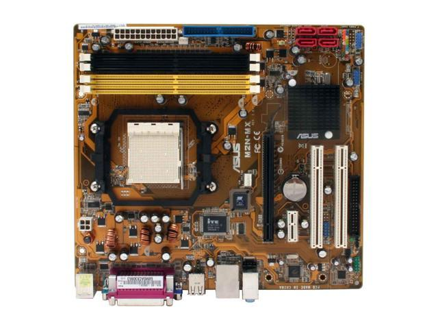 ASUS M2N-MX AM2 NVIDIA GeForce 6100 Micro ATX AMD Motherboard