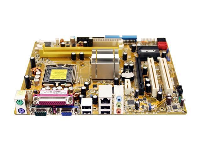 ASUS P5L-MX LGA 775 Intel 945G Micro ATX Intel Motherboard