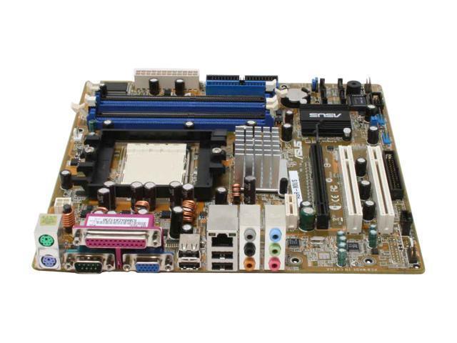 ASUS A8R-MX/SI 939 ATI Radeon Xpress 200 Micro ATX AMD Motherboard - OEM