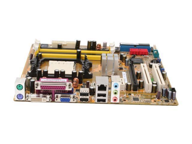 ASUS M2NBP-VM CSM AM2 NVIDIA Quadro NVS 210S Micro ATX AMD Motherboard