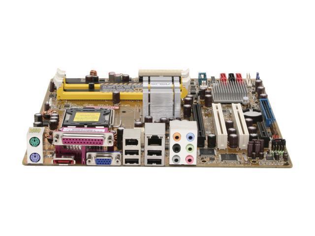 ASUS P5B-VM DO LGA 775 Intel Q965 Express Micro ATX Intel Motherboard