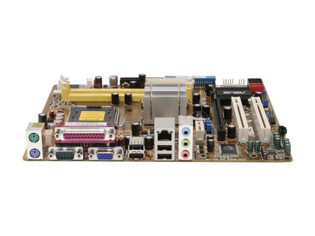 ASUS P5GZ-MX LGA 775 Intel 945GZ Micro ATX Intel Motherboard