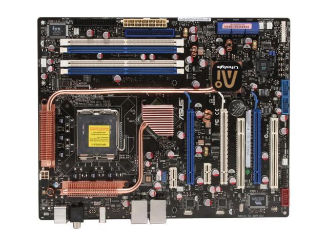 ASUS P5N32-E SLI Plus LGA 775 C55+MCP55P; a.k.a. nForce 650i SLI & nForce 570 SLI ATX Intel Motherboard