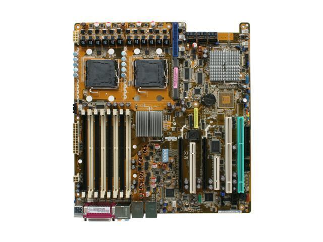 ASUS DSGC-DW SSI EEB 3.61 Server Motherboard Dual LGA 771 Intel 5000X DDR2 667