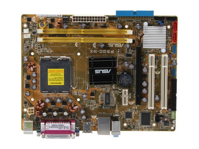 ASUS P5GC-MX LGA 775 Intel 945GC Micro ATX Intel Motherboard
