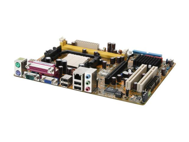 ASUS M2N-MX SE AM2 NVIDIA GeForce6100 / nForce430 Micro ATX AMD Motherboard