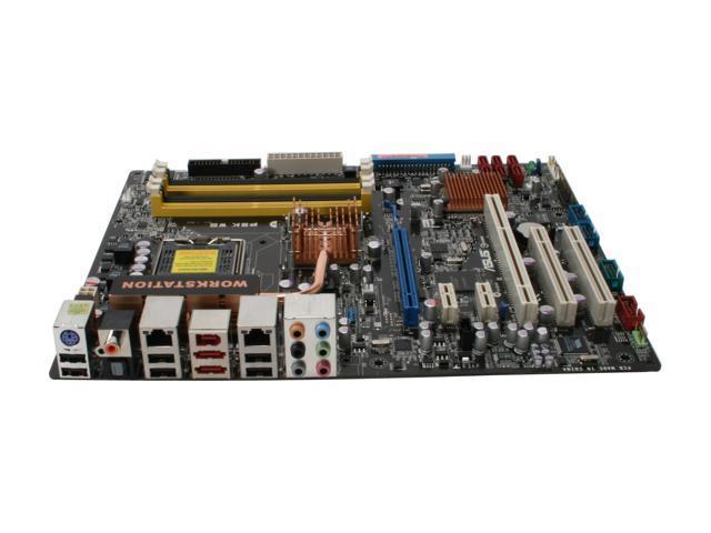 ASUS P5K WS LGA 775 Intel P35 ATX Intel Motherboard