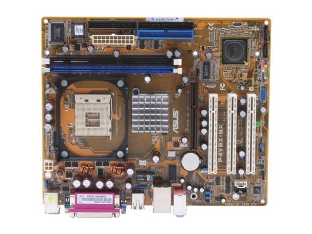 ASUS P4V8X-MX 478 VIA P4M800 Micro ATX Intel Motherboard