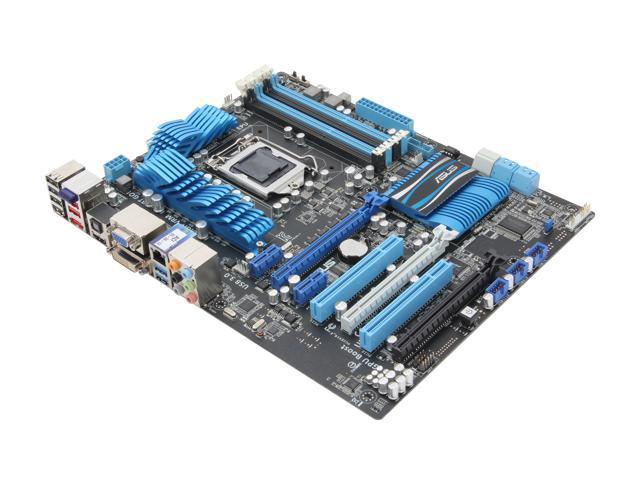 ASUS P8Z68-V LGA 1155 Intel Z68 HDMI SATA 6Gb/s USB 3.0 ATX Intel Motherboard