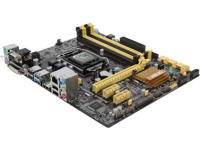 ASUS B85M-G LGA 1150 Intel B85 HDMI SATA 6Gb/s USB 3.0 Micro ATX Intel Motherboard