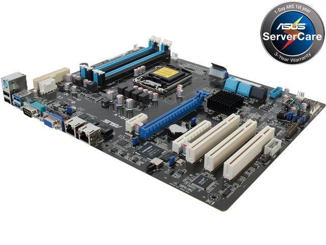 ASUS P9D-V ATX Server Motherboard LGA 1150 DDR3 1600/1333