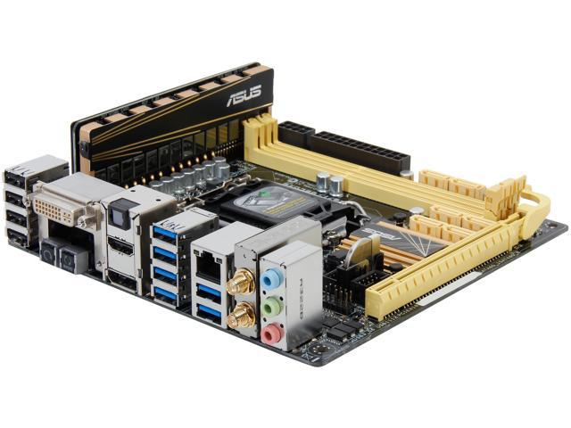 ASUS Z87I-DELUXE Mini ITX Intel Motherboard