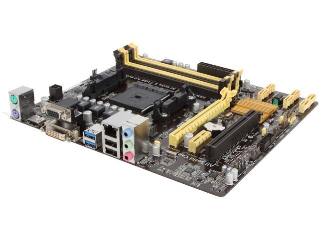 ASUS A88XM-A FM2+ AMD A88X (Bolton D4) SATA 6Gb/s USB 3.0 HDMI Micro ATX AMD Motherboard with UEFI BIOS
