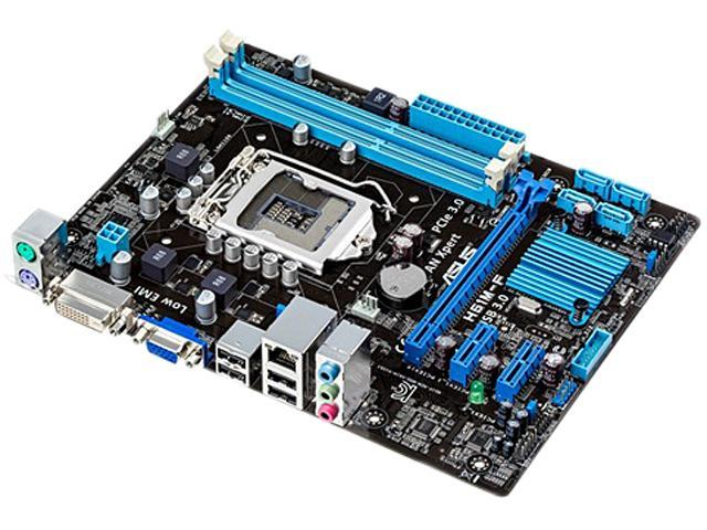 ASUS H61M-F LGA 1155 Intel H61(B3) Micro ATX Intel Motherboard