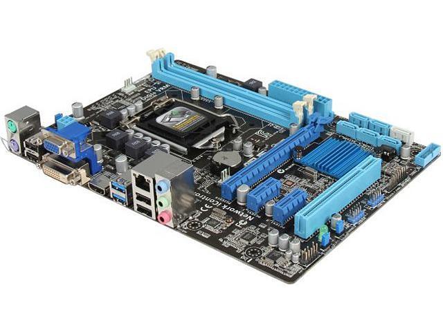 ASUS B75M-A LGA 1155 Intel B75 HDMI SATA 6Gb/s USB 3.0 Micro ATX Intel Motherboard