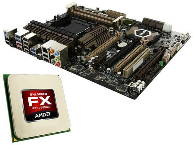 AMD FX-8320 3.5GHz(4.0GHz Turbo) CPU and ASUS Sabertooth 990FX Motherboard Combo