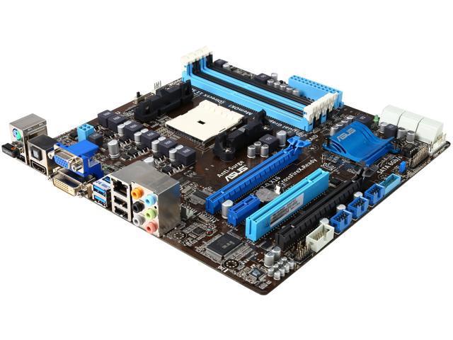 ASUS F1A75-M-R FM1 AMD A75 (Hudson D3) HDMI SATA 6Gb/s USB 3.0 Micro ATX AMD Motherboard with UEFI BIOS
