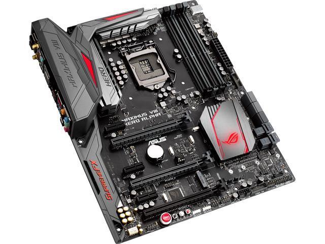ASUS ROG MAXIMUS VIII HERO ALPHA LGA 1151 Intel Z170 HDMI SATA 6Gb/s USB 3.1 USB 3.0 ATX Intel Motherboard