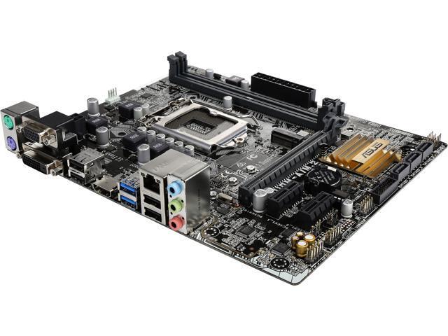 ASUS - MOTHERBOARDS H110M-A/M.2 Intel H110 HDMI SATA 6Gb/s ...