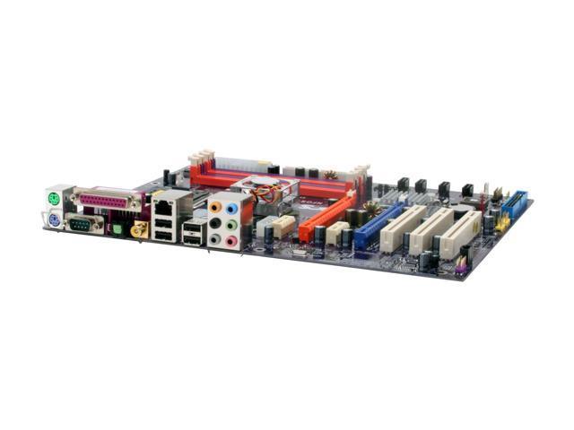 ECS NFORCE 570 SLIT-A (V5.1) LGA 775 NVIDIA nForce 570 SLI ATX Intel Motherboard
