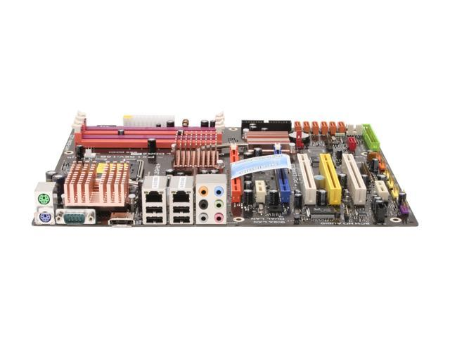 ECS PX1 (1.0B) LGA 775 Intel P965 Express ATX Intel Motherboard
