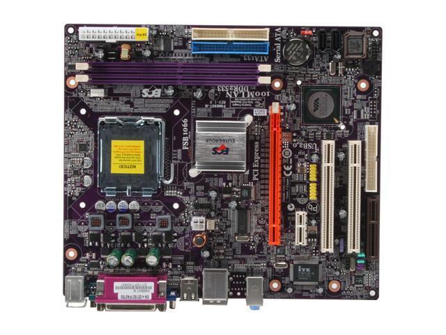 ECS P4M890T-M (V1.0) LGA 775 VIA P4M890 Micro ATX Intel Motherboard