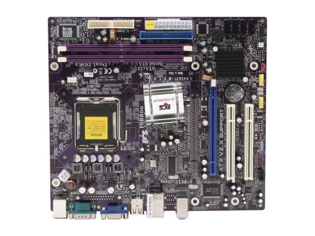 ECS 945GZT-M V1.0 LGA 775 Intel 945GZ Micro ATX Intel Motherboard