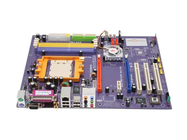 ECS KN1 SLI Lite (1.0A) 939 NVIDIA nForce4 SLI ATX AMD Motherboard
