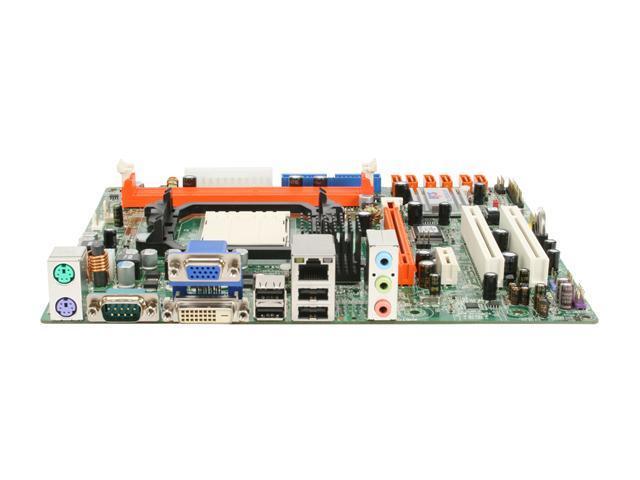 ECS RC410L/800-M 2.0 LGA 775 ATI Radeon Xpress 200 Micro ATX Intel Motherboard