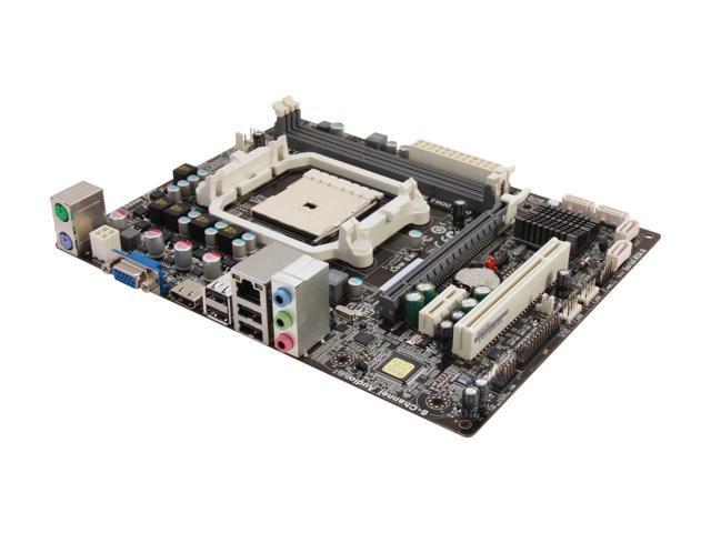 ECS A55F2-M3(1.0) Micro ATX AMD Motherboard