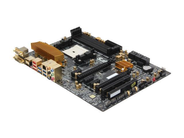 ECS A85F2-A GOLDEN(1.0) FM2 AMD A85X (Hudson D4) SATA 6Gb/s USB 3.0 HDMI ATX AMD Motherboard