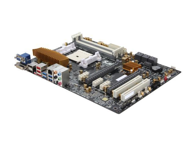 ECS A85F2-A DELUXE(1.0) ATX AMD Motherboard