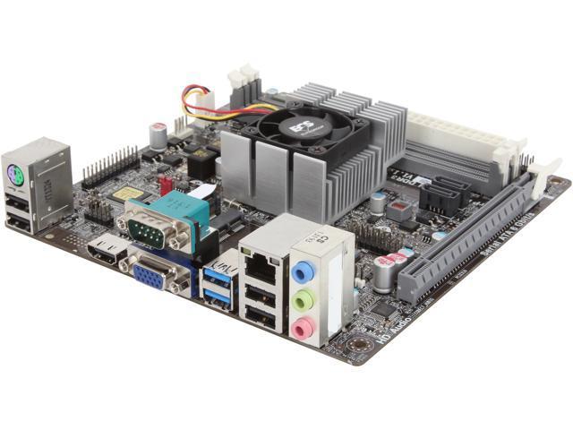 ECS KBN-I/5200 AMD A6-5200 Quad Core processor Mini ITX Motherboard/CPU/VGA Combo