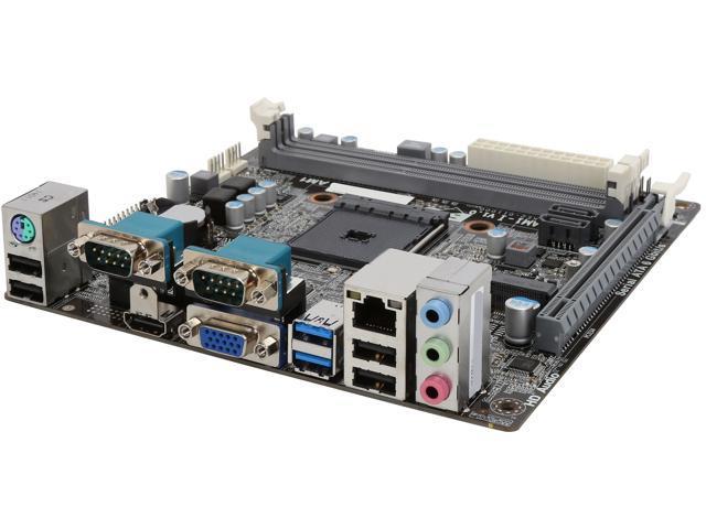 ECS KAM1-I(1.0) AM1 HDMI SATA 6Gb/s USB 3.0 Mini ITX AMD Motherboard