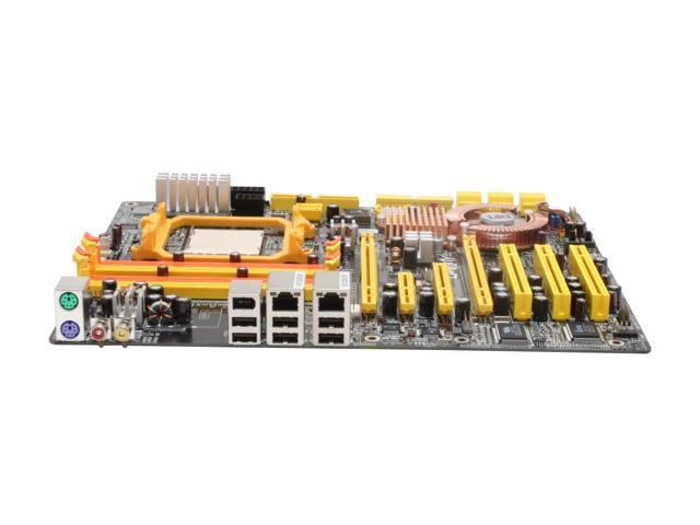 DFI LANPARTY UT NF590 SLI-M2R/G AM2 NVIDIA nForce 590 SLI MCP ATX AMD Motherboard