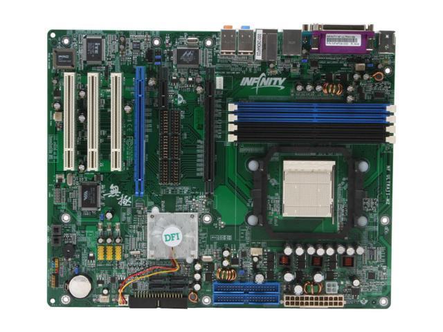 DFI INFINITY NF ULTRAII-M2 AM2 NVIDIA nForce4 Ultra ATX AMD Motherboard
