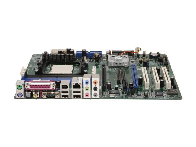 DFI INFINITY NF SLI-M2 AM2 NVIDIA nForce4 SLI ATX AMD Motherboard