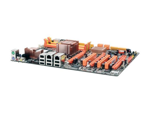 DFI ICFX3200-T2R/G LGA 775 ATI CrossFire Xpress 3200 IE ATX Intel Motherboard