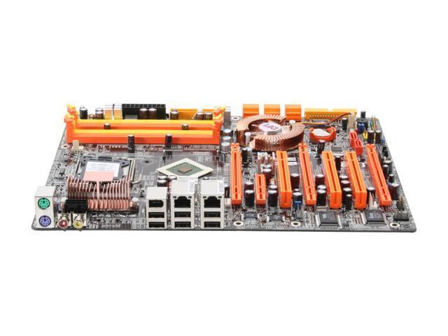DFI LP UT NF680I LT SLI-T2 LGA 775 NVIDIA nForce 680i LT SLI ATX Intel Motherboard