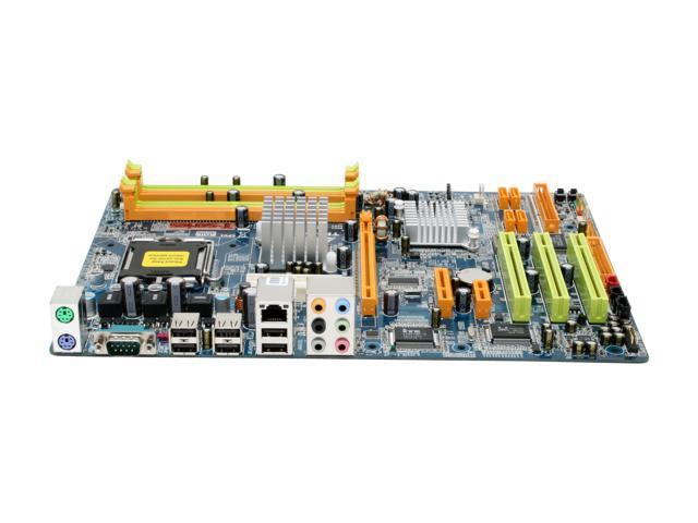 BIOSTAR TForceP965 LGA 775 Intel P965 Express ATX Intel Motherboard