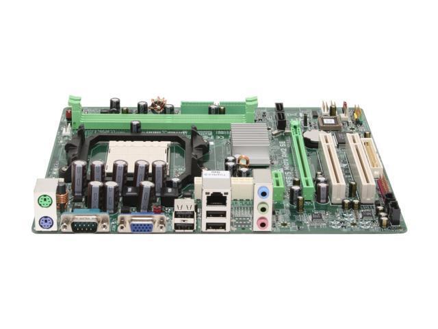 BIOSTAR NF61S Micro AM2 SE AM2 NVIDIA GeForce 6100 Micro ATX AMD Motherboard