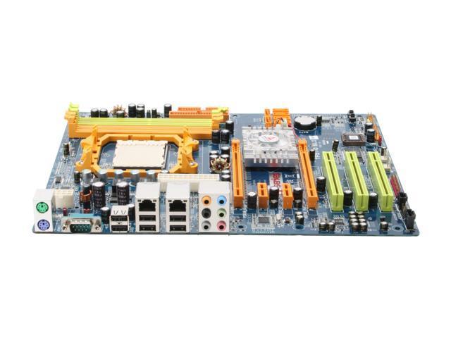 BIOSTAR TForce TF570SLI AM2 NVIDIA nForce 570 SLI MCP ATX AMD Motherboard