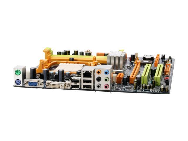 BIOSTAR TForce TF7025-M2 AM2 NVIDIA GeForce 7025 Micro ATX AMD Motherboard