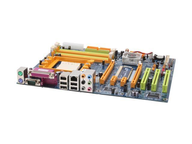 BIOSTAR TForce4SLI 939 NVIDIA nForce4 SLI ATX AMD Motherboard