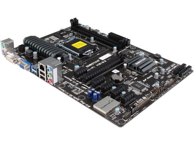 BIOSTAR Hi-Fi H81S2 LGA 1150 Intel H81 SATA 6Gb/s USB 3.0 ATX Intel Motherboard